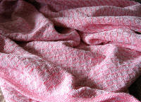 Pattern 3 Woven in Pink